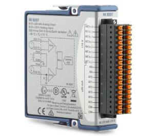 NI 9207 スプリング端子