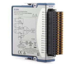 NI 9208 スプリング端子
