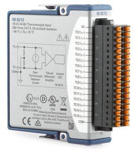 NI 9213 スプリング端子