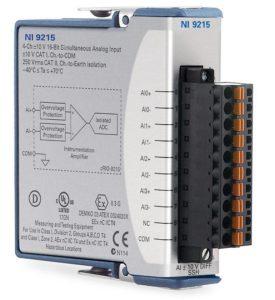 NI 9215 スプリング端子