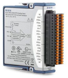 NI 9216 スプリング端子